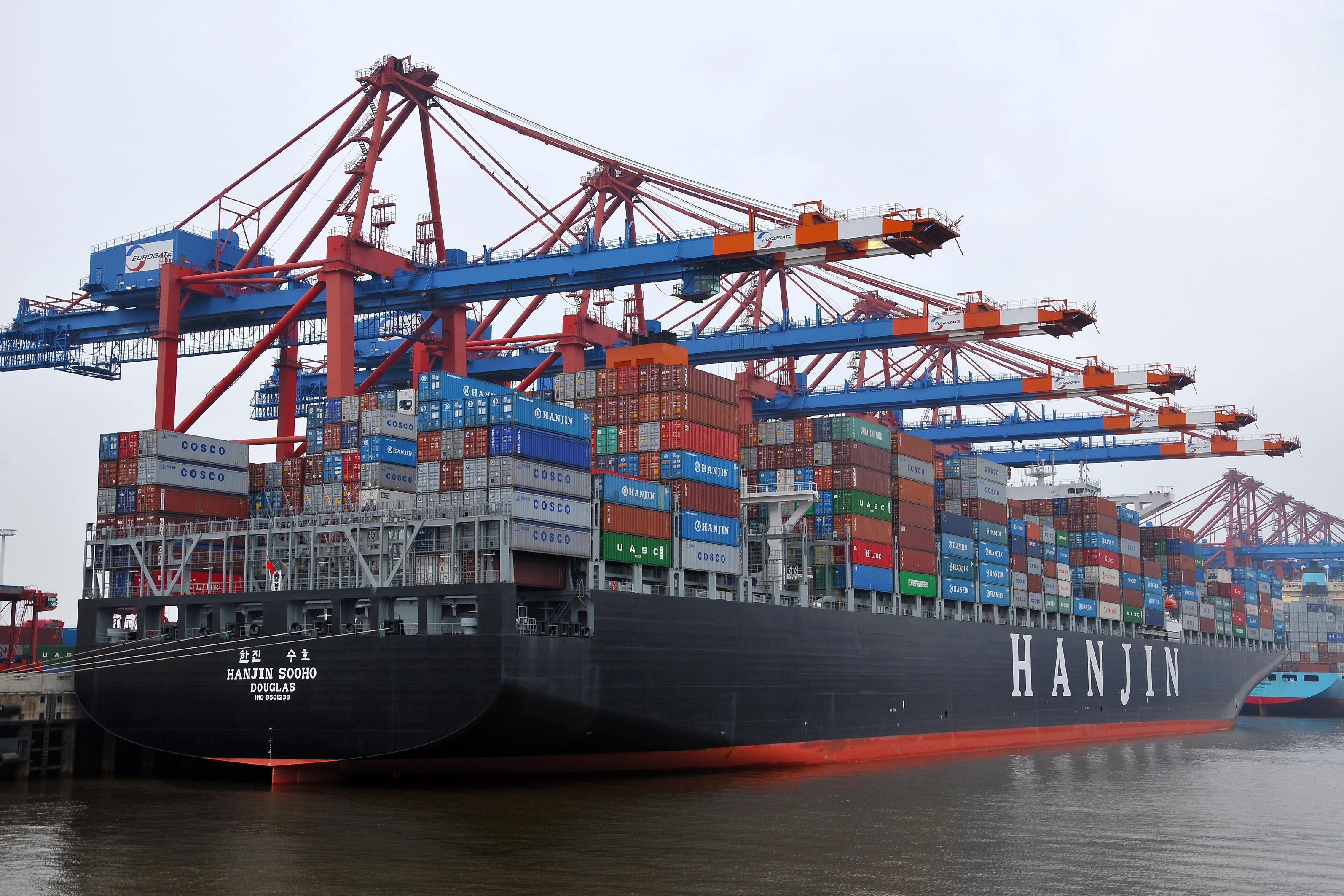 Porte-containers, marchandises, bateau, assurance